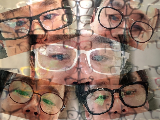 眼鏡のレンズ交換