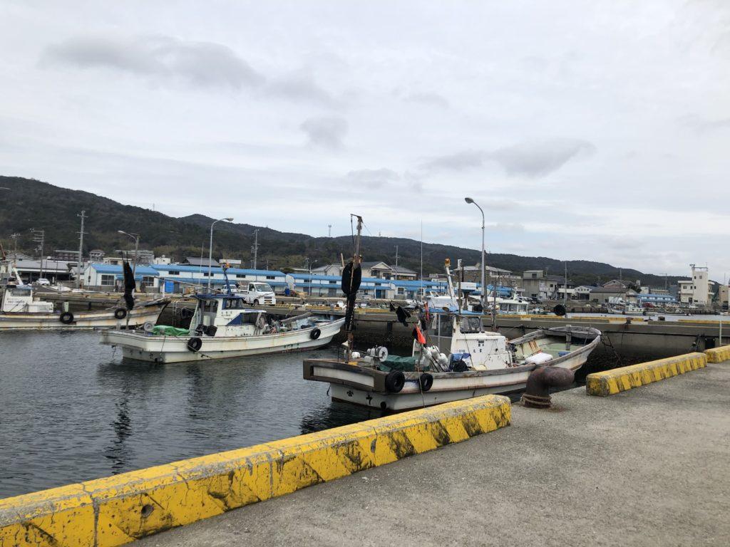 福良港の釣り場