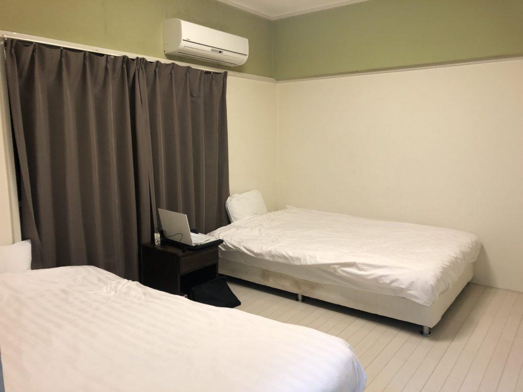 島海月2DK寝室